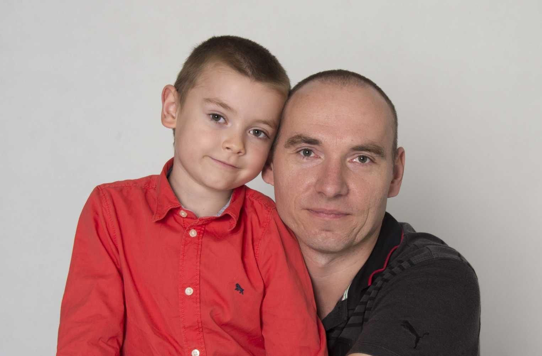 Fotografie otce se synem