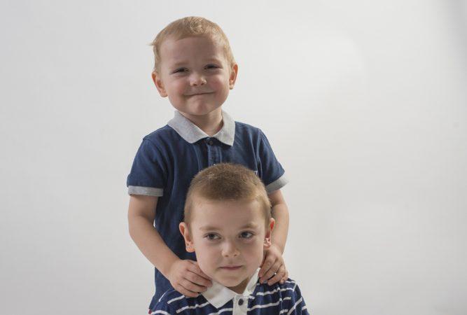 Fotografie sourozenců