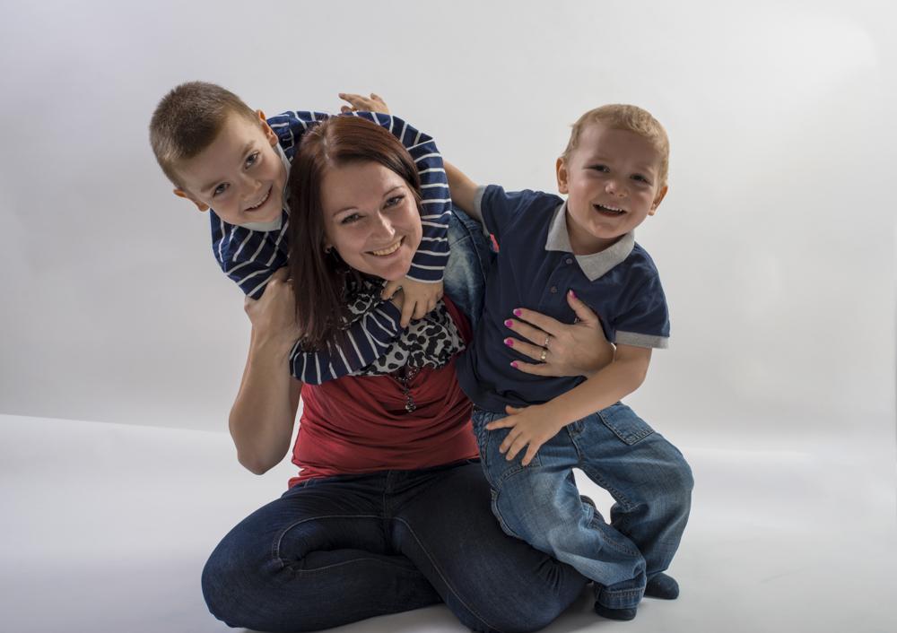 Fotografie dětí s maminkou