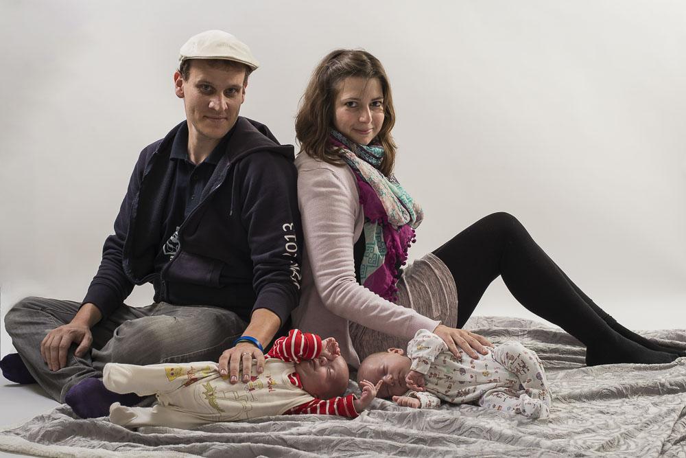 Rodinná fotografie s dětmi
